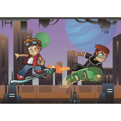 Puzzle Art-Puzzle-4502 XXL Teile - The Skater Boys