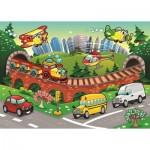 Puzzle  Art-Puzzle-4504 XXL Teile - Der Verkehr
