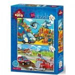 Art-Puzzle-4516 2 Puzzles - Rescue