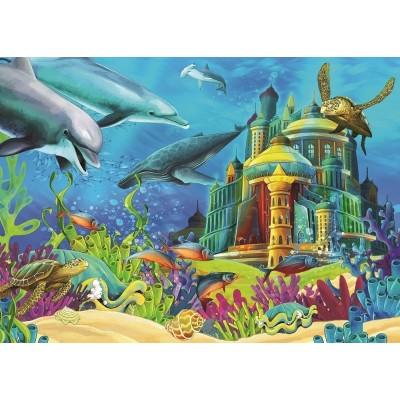 Puzzle  Art-Puzzle-4525 Das Unterwasserschloss