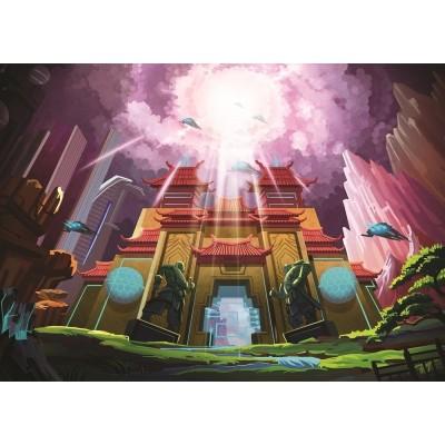 Puzzle Art-Puzzle-4530 The Fantastic Castle