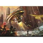 Puzzle  Art-Puzzle-4531 Space Wars