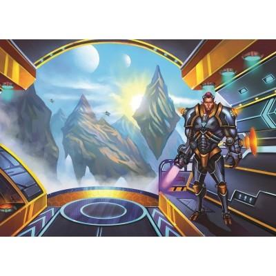 Puzzle Art-Puzzle-4532 Warriors