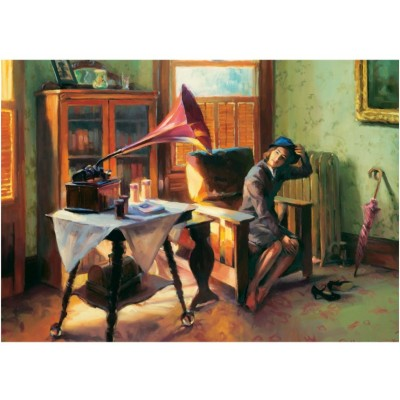Puzzle  Art-Puzzle-4540 Grammophon