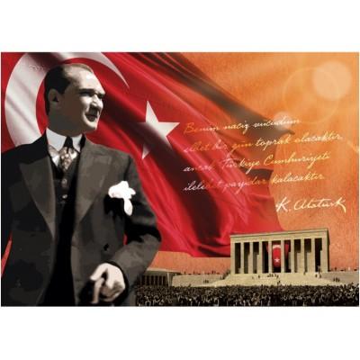 Puzzle  Art-Puzzle-4547 Atatürk