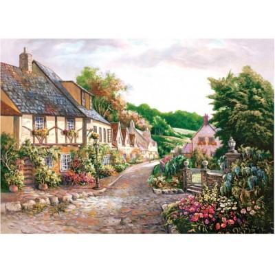 Puzzle Art-Puzzle-4571 Cottages