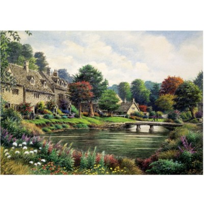 Puzzle  Art-Puzzle-4572 Cottage