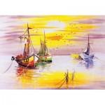 Puzzle  Art-Puzzle-4578 Evening Sun