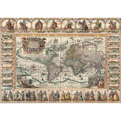 Puzzle  Art-Puzzle-4584 Ancient World Map