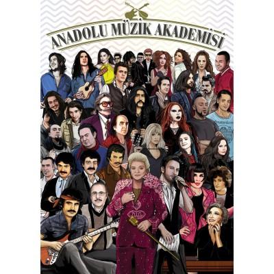 Puzzle  Art-Puzzle-4586 Anatolia Music Academy