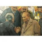 Puzzle  Art-Puzzle-4589 Atatürk and Earthquake
