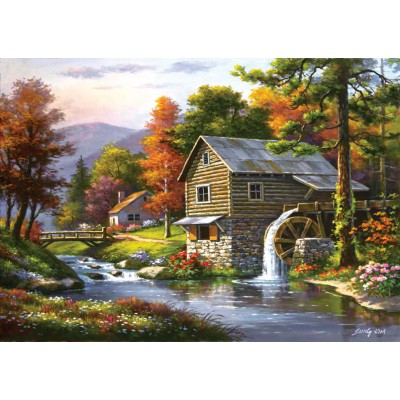 Puzzle  Art-Puzzle-4640 Dominic Davison: Old Sutter's Mill
