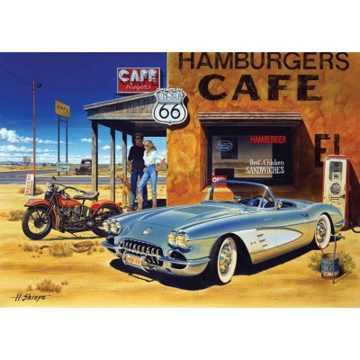 Puzzle  Art-Puzzle-4642 Arizona Cafe