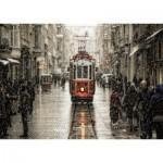 Puzzle  Art-Puzzle-4707 Murat Akan: Beyoglu in Sleet
