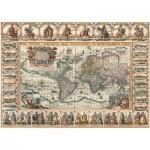 Puzzle  Art-Puzzle-4711 Antike Weltkarte