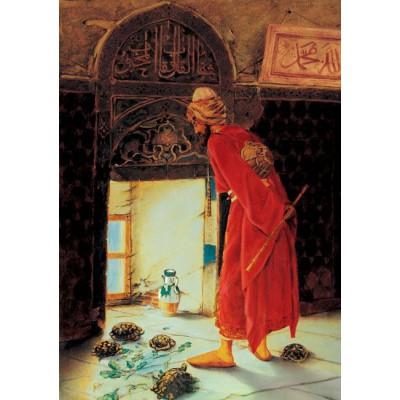 Puzzle Art-Puzzle-4713 Osman Hamdi Bey: Der Schildkrötenerzieher