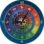 Art-Puzzle-5001 Puzzle-Uhr - Zodiac