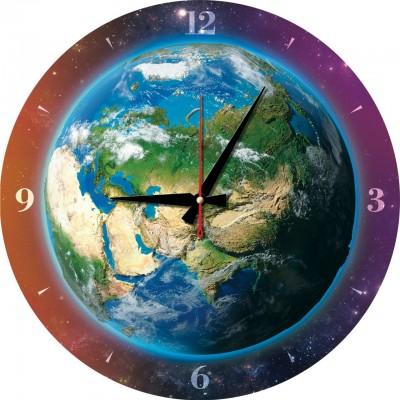 Art-Puzzle-5002 Puzzle-Uhr - Die Welt