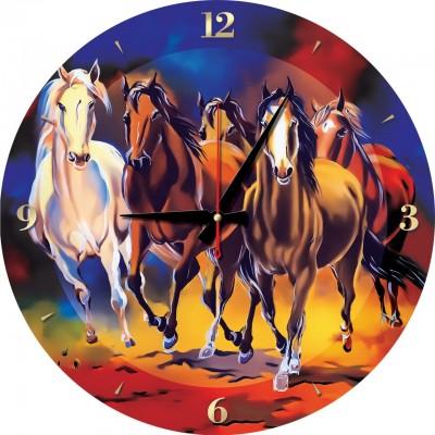 Art-Puzzle-5004 Puzzle-Uhr - Pferde