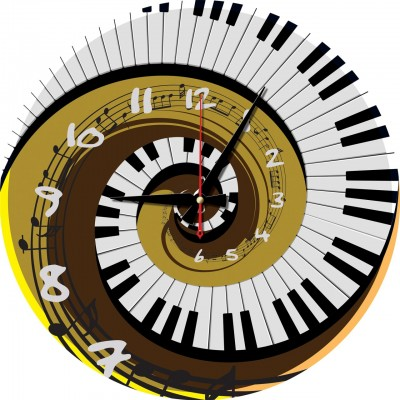 Art-Puzzle-5006 Puzzle-Uhr - Rhythm of Time