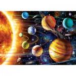 Art-Puzzle-5012 Neon Puzzle - Sonnensystem