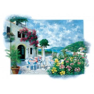 Puzzle Art-Puzzle-5026 Beach Cafe