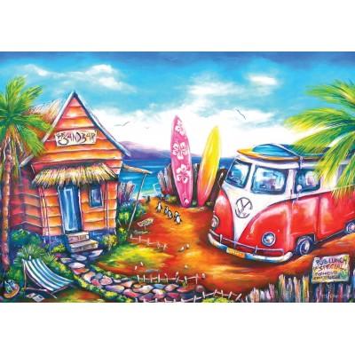 Puzzle Art-Puzzle-5027 Surf Camp