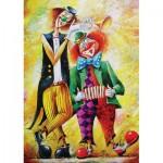 Puzzle  Art-Puzzle-5030 Clowns Musiker
