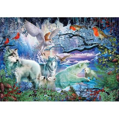 Puzzle Art-Puzzle-5073 Glacier Forest
