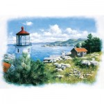 Puzzle  Art-Puzzle-5076 Lantern on the Shore