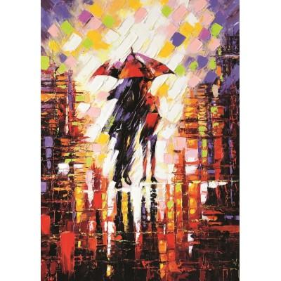 Puzzle  Art-Puzzle-5090 Love Under The Umbrella
