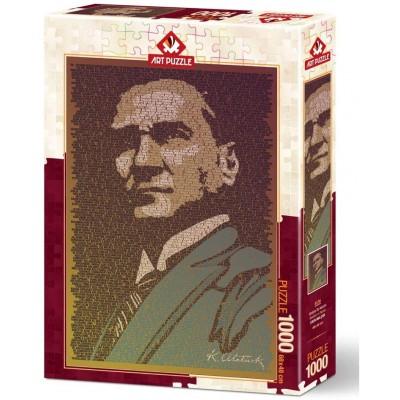 Puzzle  Art-Puzzle-5170 Atatürk et Conference