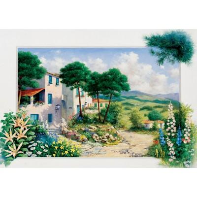 Puzzle  Art-Puzzle-5180 In Summerhouse