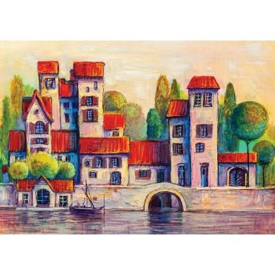 Puzzle  Art-Puzzle-5213 The Nature City