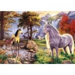 Puzzle  Art-Puzzle-5215 Hidden Horses