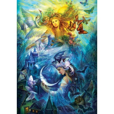 Puzzle  Art-Puzzle-5218 The Day and Night Princesses