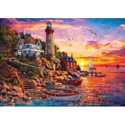 Puzzle  Art-Puzzle-5486 The Gorgeous Sunset
