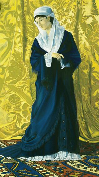 Puzzle  Art-Puzzle-81043 Osman Hamdi Bey: Old Istanbul Lady