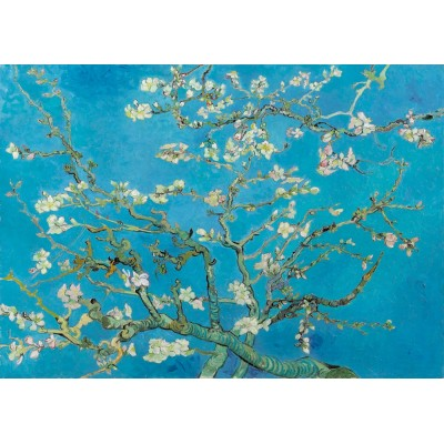 Puzzle  Art-by-Bluebird-60007 Vincent Van Gogh - Almond Blossom, 1890