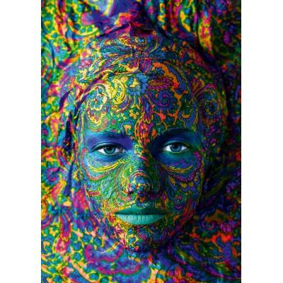 Puzzle Art-by-Bluebird-60010 Face Art - Portrait of woman