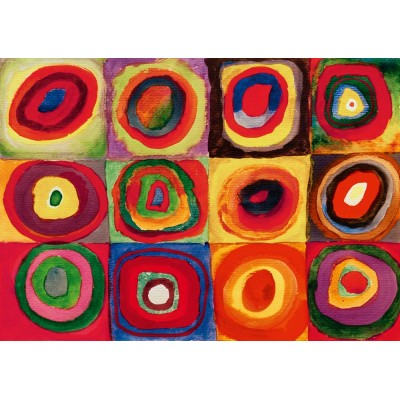 Puzzle  Art-by-Bluebird-60035 Kandinsky - Colour Study, 1913