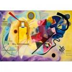 Puzzle  Art-by-Bluebird-60036 Kandinsky - Gelb-Rot-Blau, 1925