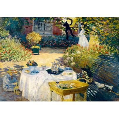 Puzzle  Art-by-Bluebird-60040 Claude Monet - The Lunch, 1873
