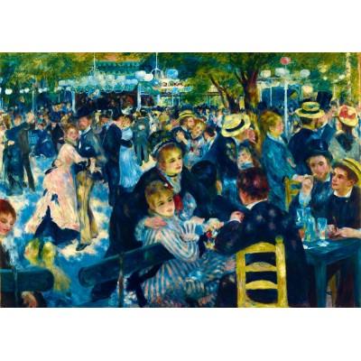 Puzzle  Art-by-Bluebird-60049 Renoir - Dance at Le Moulin de la Galette, 1876