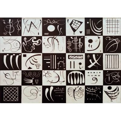 Puzzle  Art-by-Bluebird-60051 Kandinsky - Trente, 1937