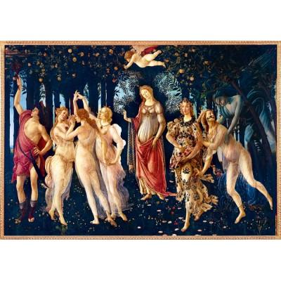 Puzzle  Art-by-Bluebird-60057 Botticelli - La Primavera (Spring), 1482
