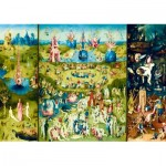 Puzzle  Art-by-Bluebird-60059 Bosch - The Garden of Earthly Delights