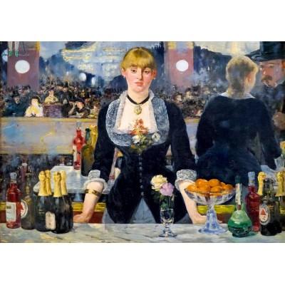 Puzzle  Art-by-Bluebird-60080 Édouard Manet - A Bar at the Folies-Bergère, 1882