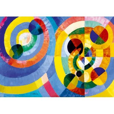 Puzzle  Art-by-Bluebird-60081 Robert Delaunay - Circular Forms, 1930
