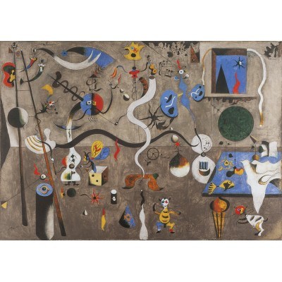 Puzzle  Art-by-Bluebird-60108 Joan Miro  - The Harlequin's Carnival, 1924-1925